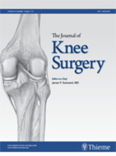 Publicatie Journal of Knee Surgery