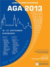 Presentations RPA Janssen at 30th AGA Jubilee Congress 2013